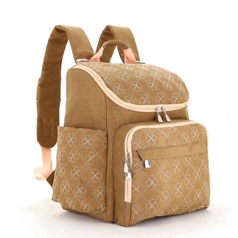 Diaper Bag Fashion Mummy Maternity Nappy Bag Brand Baby Travel Backpack Diaper Organizer Nursing Bag For Baby Stroller Wetbag (7)