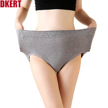 Buy DKERT Cotton Women Panties Plus Size Sexy Lace Underwear Briefs Seamless Female Panties