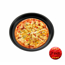 Factory Price 7 inch Black Non Stick Aluminium Alloy Pizza Pans Cake Baking Pans, Baking Pans-010(China)