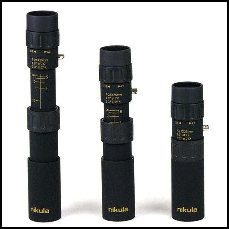 Free Shipping Nikula 10-30x25  high-power high-definition zoom monocular telescope Protable  Pocket Monocular Telescope<br><br>Aliexpress