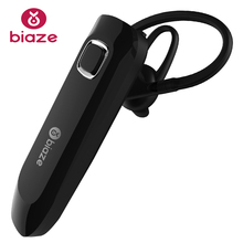 BIAZE business, Bluetooth headset sports Bluetooth headset, Bluetooth 4.1, long standby waterproof headphones, ear hanging type(China)