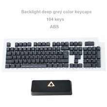 Free Shipping ABS Keycaps  Double Color Translucent Newly Design Rainbow Color Mechanical Keyboard