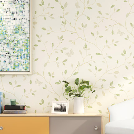 Modern Stylish Leaves Wallpaper Bedroom Living Room TV Sofa Background Home decor Wall Paper Roll<br>