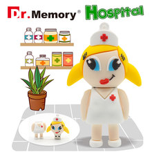 Doctor Nurse Pendrive USB 2.0 Flash Memory Pen Drive Stick 4GB 8GB 16GB 32GB 64GB Dentist USB Flash Drives Thumbdrive