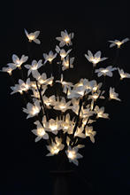 "3V AdaptorType Blossom Forsytia Flower Branch Light 20"" 60 LED Christmas branch light wedding table decoration Spring Decoration"