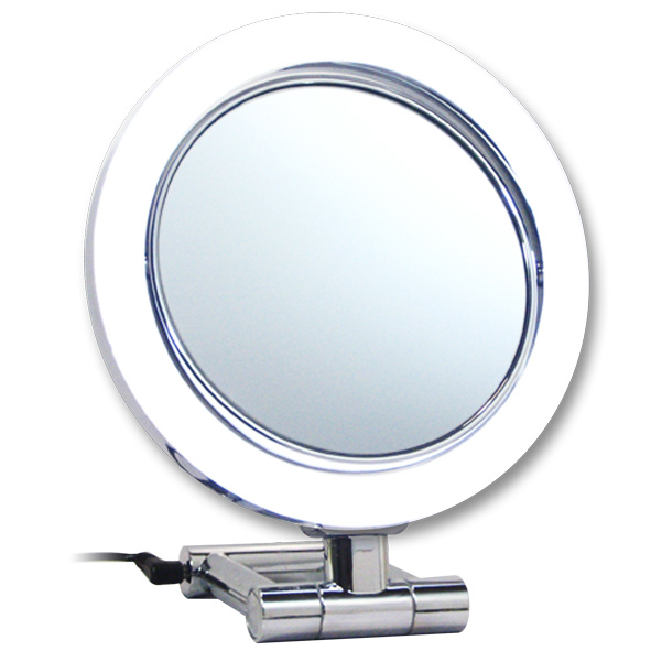 Rucci M896 10x and 1x Magnification Led Chrome Stand Mirror (1)