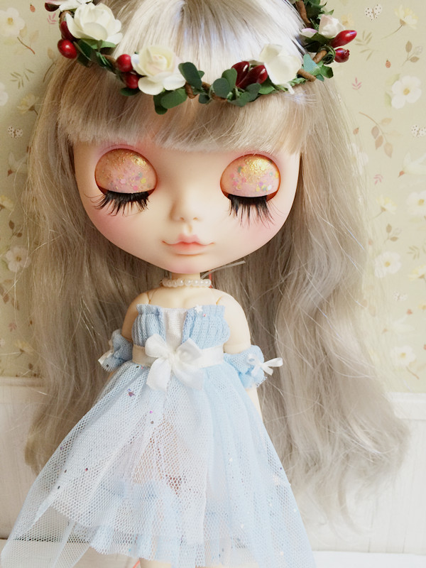 Dress suits available for Licca AZONE S Blythe doll accessories blue dream doll clothes a suits(China)