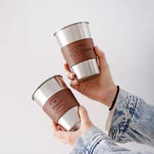 Travel Mugs Tea-Cups Straws-Lid Stainless-Steel Insulated Fashion 350ML with And Big