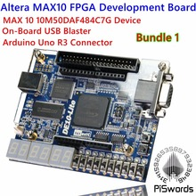 Altera MAX 10 FPGA Development Board Logic IC 10M50DAF484C7G DE10-LITE Development Tools MAX10 with Arduino Uno R3 Connector(China)