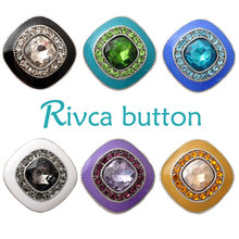 Buy D02561 Hot wholesale New Rivca Snap Buttons Fit Snap Bracelet Colorful Rhinestone DIY Snaps Jewelry for $4.50 in AliExpress store