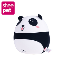 Kawaii Panda Plush Doll toys for children Kids 27cm Cute Panda Plush Toys Infant Soft brinquedos Christmas Gift(China)