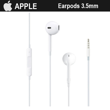 Apple Earpods 3.5mm Plug Original Wired In-ear Earphone With Microphone Deeper Richer Bass Inline Control For iPhone Smartphone(China)