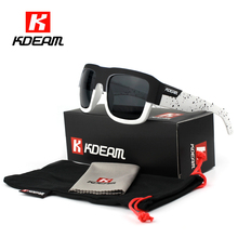 World-renowned Designer Polarized Sunglasses Men Durability Vintage Glasses Driver gafas de sol mujer Shades With Case KDEAM CE