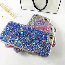 Luxury Bling Glitter Phone Case For iPhone 7 Plus iPhone 6 6S Plus Soft TPU Back 6 6s 7 Cover