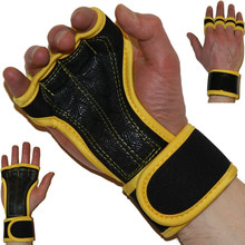 Premium Quality Cross Training Ventilated Anti-Sweat Gloves with Superior Wrist Support & Incredible Grip Ideal for Fitness(China)