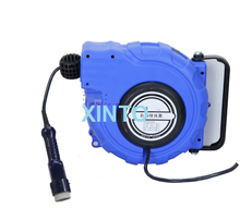 15---20M Automotive lamp hose reel, Automatic electric power source retractable reel