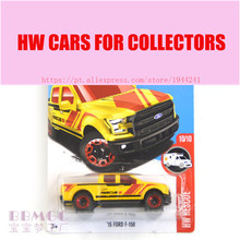New Arrivals 2017 Hot 1:64 Car wheels golden Ford F-150 Metal Diecast Cars Collection Kids Toys Vehicle For Children Juguetes