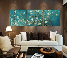 Branches with Almond Blossm by Vincent van Gogh Modern picture cotton canvas prints painting christmas decorations for home
