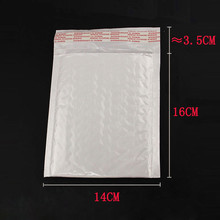 White 160x140MM 10pcs/lot High Quality Pearl Film Bubble Mailers White Padded Envelopes Bags