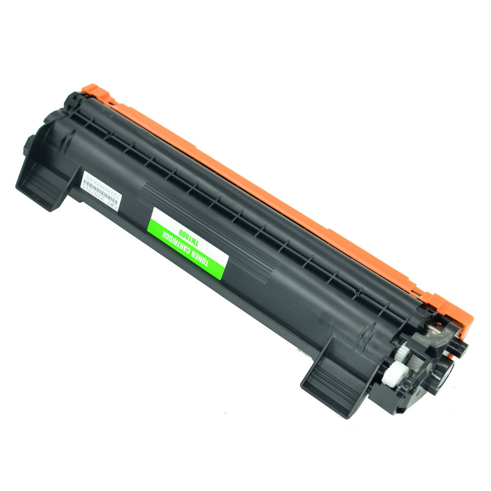 2 PK TN1000 TN-1000 Black Toner Cartridge for Brother DCP1512 HL1112 MFC1810R