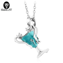 Horcrux Convert Hellgate Hutch Pike Cup Necklaces Hufflepuff Enamel Pendant Alloy Necklace Free Shipping Direct Manufacturers(China)