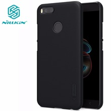 xiaomi mi5X Case xiaomi mi 5X A1 cover NILLKIN Super Frosted Shield hard back cover with free screen protector +Retail package(China)
