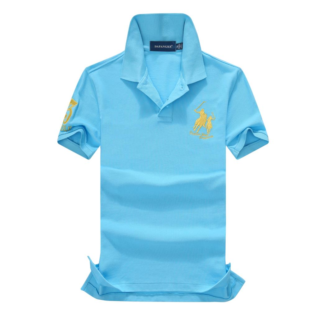 On sale 16 Colors 2019 summer 100% mesh cotton Big horse mens short sleeve polos mens shirts tops No.3 embroidery logo 11