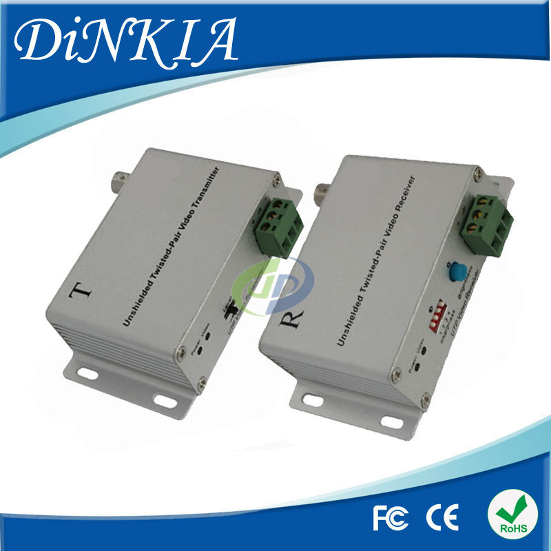 Wholesale Receiver Twisted pair 1 channel Active UTP Balun Video Balun Receiver  via CAT5 ,DS-UA0112B(T+R)<br><br>Aliexpress