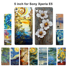 Buy Soft TPU Cover Sony Xperia E5 F3311 F3313 Soft Silicone Oil Painted Back Cover Phone Case Xperia E5 E 5 Fundas for $1.37 in AliExpress store