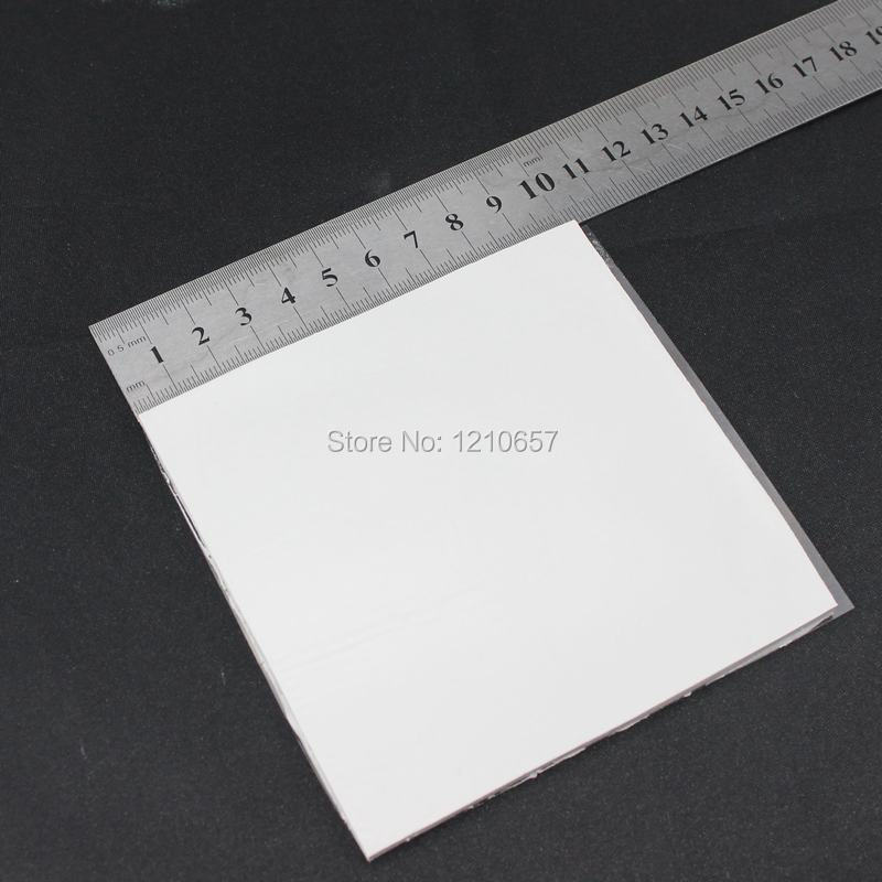 5Pieces LOT High Quality 100 x 100 x 5mm White Thermal Pad Silicone Heatsink