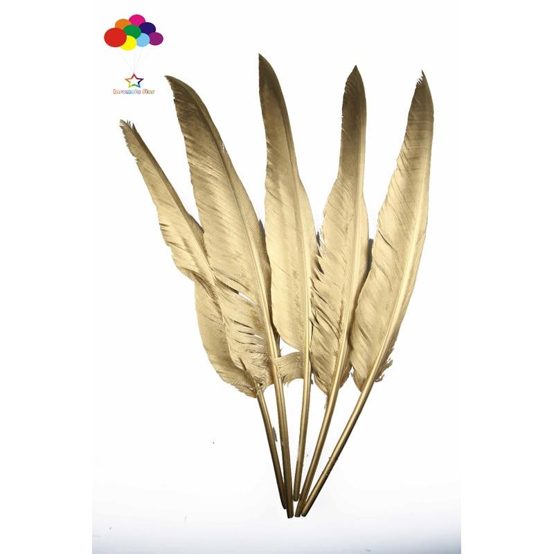 Noir Blanc Turquie Tail Feather 10-12 in//25-30 cm 10-100PCS Carnaval À faire soi-même Costume