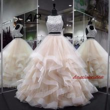 53e704dcc7e ANGELSBRIDEP ANGELBRIDEP 1 Ball Gown Quinceanera Dresses. US  103.50    piece Free Shipping