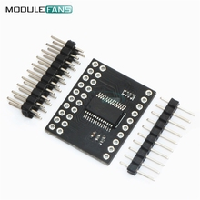 New Serial Interface Module IIC I2C MCP23017 SPI MCP23S17 Bidirectional 16-Bit I/O Expander Pins 10Mhz Serial Interface Module