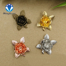 Buy MINGXUAN 10pcs 20mm 7 Colors Plated New Flowers Filigree Connectors Charms Copper Material DIY Jewelry Findings for $2.18 in AliExpress store