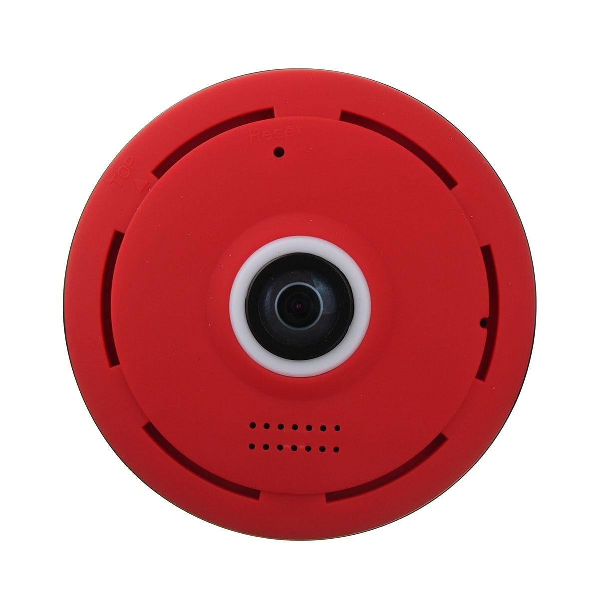 Mini 360 Degree Wireless Fisheye Wifi IP Camera Night Vision 1080P HD Panoramic Surveillance Home Security<br>