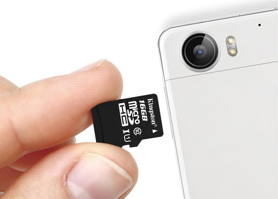 Kingston Class10 Micro Sd Card 16GB Memory Card Mini Sd Card16GB SDHC TF Card For Sony xperia z2 z3 z5 For HUAWEI p7 8 9mate9 (2)