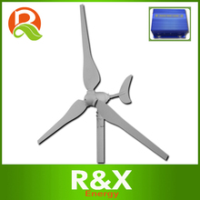 Small wind turbine generator 50w used for home. CE,ROHS,ISO9001 approved windmill+wind/solar hybrid controller.(China)
