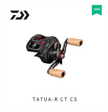2017 NEW MODEL DAIWA TATULA CT TYPE-R 100H 100HL 100HS 100HSL CS low profile fishing reel Max Drag 6KG Cork Fishing handle knob
