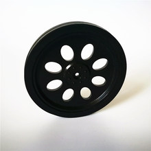 servo wheel / rubber tire / robot /smart car accessories