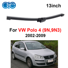 OGE Rear Windscreen Wiper Blade No Arm For VW Polo MK 4 (9N,9N3) 2002-2009 13''330mm,1piece,rubber,car accessaries F1-33