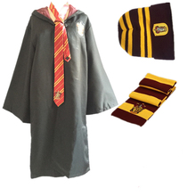 Cosplay Harri Potter Scarf Scarves cloak ,tie,hat Gryffindor,Slytherin,Hufflepuff,Ravenclaw Scarf Scarves Costumes Gift