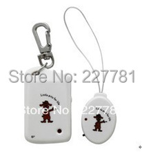 ANTI-LOST Security Reminder Alarm Kid Pet Bag Electronic Key finder Baby Kid Pet Locator White