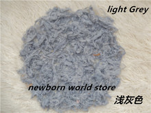 Pure Wool Filler Cushion Blanket Newborn Photography Background Props Studio Photos Aided Modeling(China)