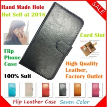 Ginzzu S5230 Case, Flip Crazy Horse Leather Phone Cases Capa for Ginzzu S5230 Case(China)