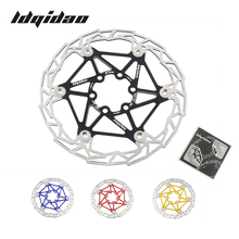 2pcs Mountain Bike 160mm 6inch Floating Disc Brake Rotor Light Weight 83g Alloy MTB Bicycle Float Rotors