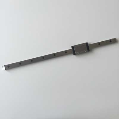 Stainless steel MGN15-1H-400  linear rail n carriage<br>