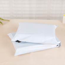 Retail 150Pcs/Lot White Poly Mailer Mailing Bag Pocket Express Courier Packing Bag Envelope Plastic Mailers Shipping Package Bag(China)