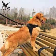 TAILUP Adjustable Dog Harness Pet Chest Strap Saddle Type Traction Rope Soft Comfortable Vest Large Net Cloth Dog Strap 3 Sizes