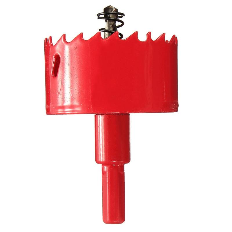 1pc High Quality Bi-Metal M42 HSS Hole Saw Cutter Drill Bit Set Red 16mm-70mm For Iron Wood<br><br>Aliexpress