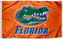 Florida Gators Flag UF Orange flag150Xl90CM Banner 100D Polyester flag brass grommets 001, free shipping(China)